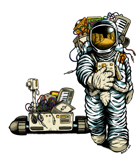 Astronaut + Vehicle